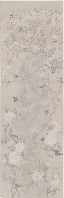 , 'Among the Flowers,' 2017, Amy Li Gallery