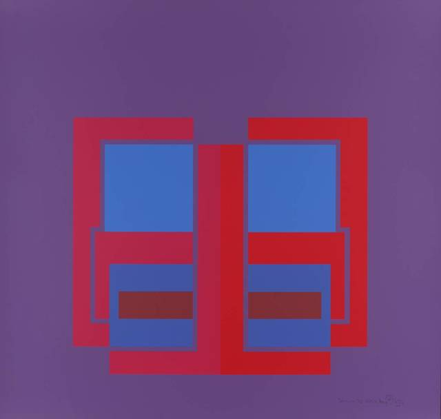 , 'All Through the Day I (purple),' 1970, Bernard Jacobson Gallery