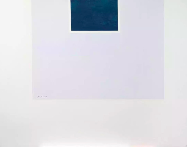 Robert Motherwell, 'Untitled (Blue/Pale Blue) from London Series II', 1971, Kunzt Gallery