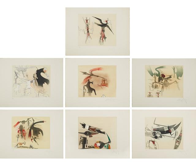 Wifredo Lam, 'Untitled Suite (TR 7901-7907)', 1977, Denis Bloch Fine Art