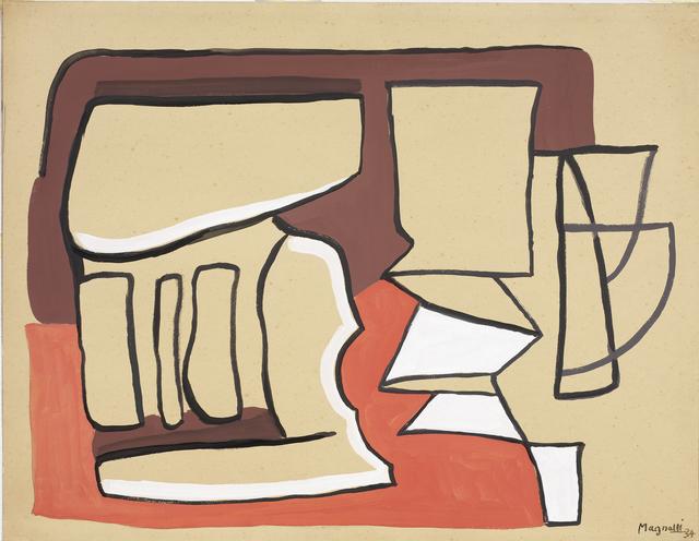 , 'Composizione (Composition),' 1934, Robilant + Voena
