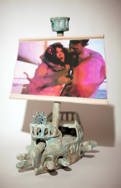 , 'Penis Pirate Ship and Plymouth Rock,' 2010, Freight + Volume