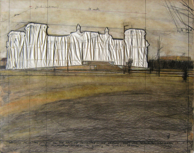 , 'Wrapped Reichstag (Project for Der Deutsche Reichstag, West Berlin),' 1976, Joseph K. Levene Fine Art, Ltd.