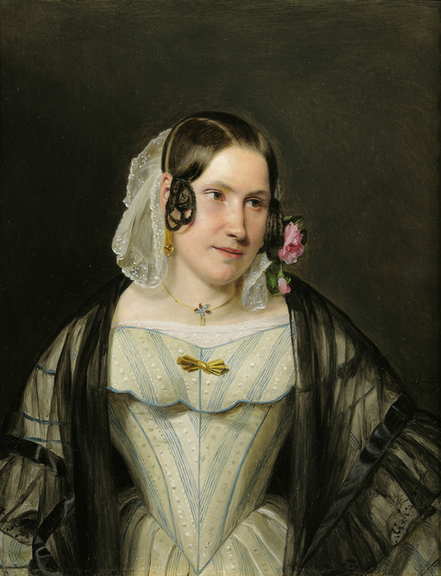 , 'Portrait of a Young Woman,' 1840, Galerie Kovacek