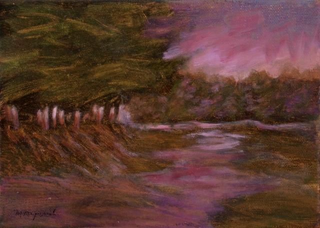 , 'Wetlands, Dusk,' 2016, Canal Street Art Gallery
