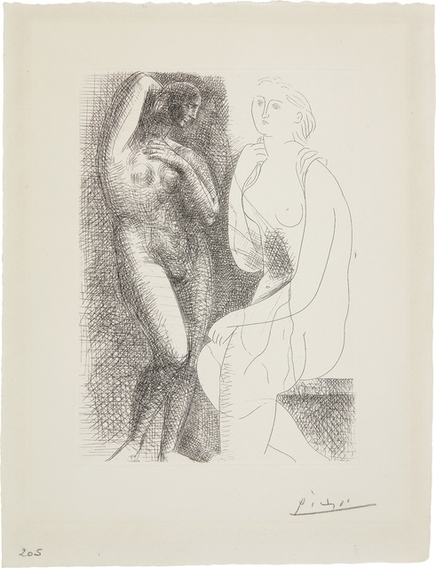 Pablo Picasso, 'Femme nue devant une statue (Naked Woman in Front of a Statue)', 1931, Phillips