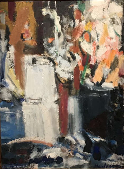 , 'Coffee Pot and Gladiolas,' 1954, ACA Galleries