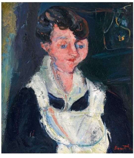 , 'Jeune Servante (Waiting Maid, also known as La Soubrette),' 1933, Ben Uri Gallery and Museum