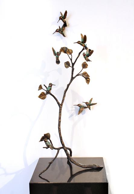 Bryce Pettit, 'Hummingbirds (Latitude Series)', 2019, Blue Rain Gallery