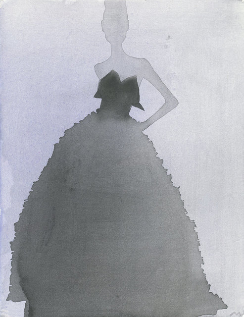 , 'Evening Gown (Lars Wallin Couture),' 2011, CFHILL