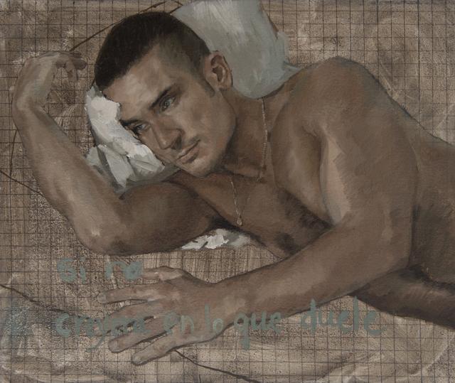 , 'Si no creyera en lo que duele,' 2013, Honos Art