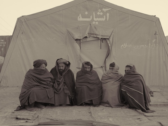 , 'Strongly Pro-Taliban Refugees,' 2010, Benrubi Gallery