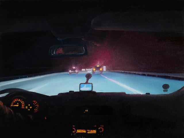 , 'Nachts,' 2011, Aki Gallery