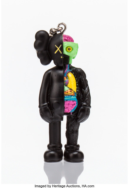 KAWS, 'Dissected Companion (Black), keychain', 2009, Other, Painted cast vinyl, Heritage Auctions