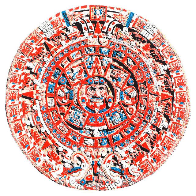 , 'Aztec Calendar (Souvenir),' 2013, C. Grimaldis Gallery