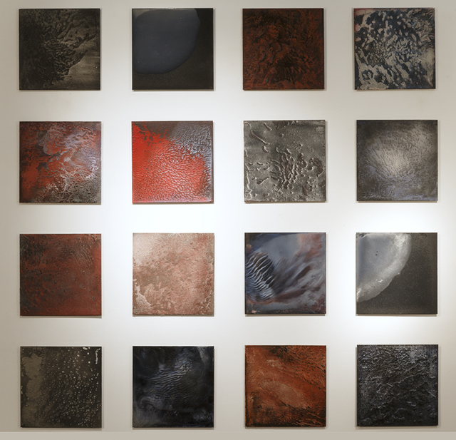 , 'Incendie studies (1-16),' 2015, ARC ONE Gallery