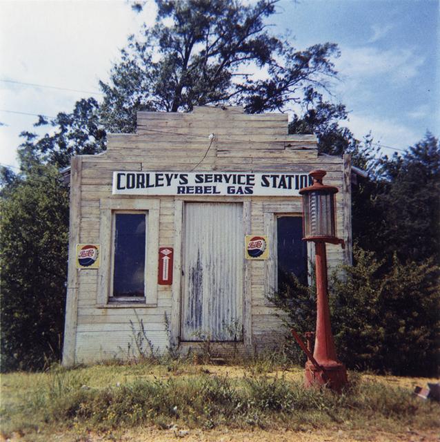 William Christenberry, 'Rebel Gasoline Station, Moundville, Alabama', 1964, Pace/MacGill Gallery