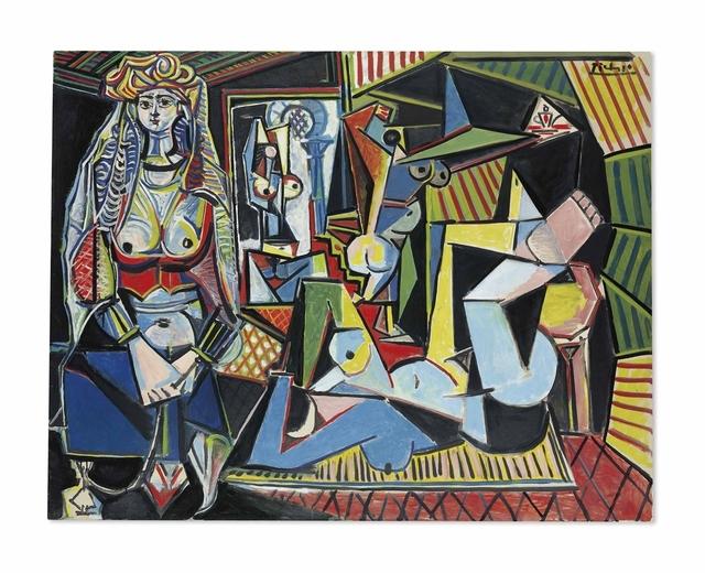 Pablo Picasso, 'Les femmes d'Alger (Version 'O')', 1955, Oil on canvas, Christie's