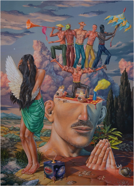 , 'The Prayer,' 2017, Mirus Gallery