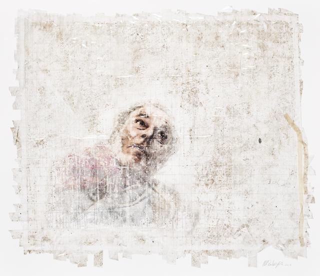 , 'Sticky-tape Transfer 34 - Lethbridge,' 2017, Goodman Gallery