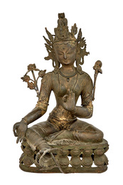 Nepalese Bronze Figure of Padmapani