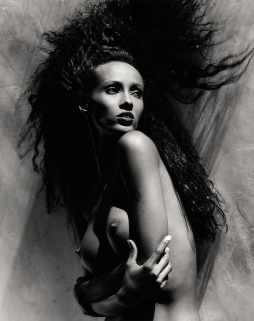 , 'Iman Holding Breasts : L.A.,' 1988, Lumiere Brothers Gallery