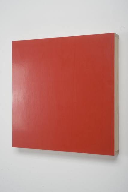 , 'New York Colors: Vermilion,' 1993, CONRADS