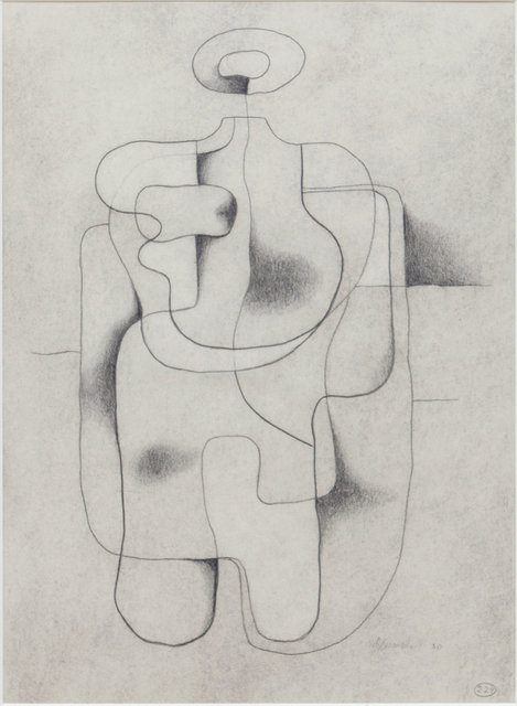 , 'Figure seated,' 1930, Jahn und Jahn