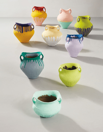Coloured Vases (in 9 parts)