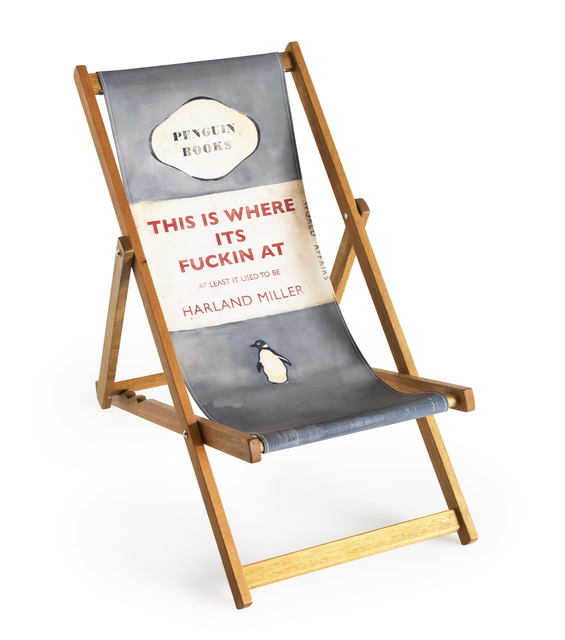 Harland Miller, 'This is Where It's Fucking At (Deck Chair)', 2013, Tate Ward Auctions
