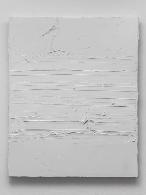 , 'Titanium white shade,' 2016, Galería Pelaires