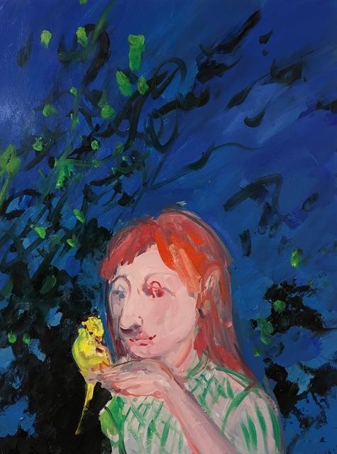 , 'Yellow Bird,' 2017, Geary Contemporary