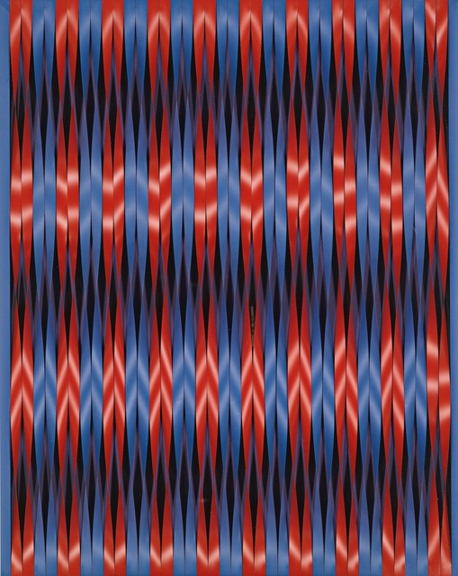 , 'Twisting Stripes  (Torsion Mobilo-Static),' 1964, Galerie Leu