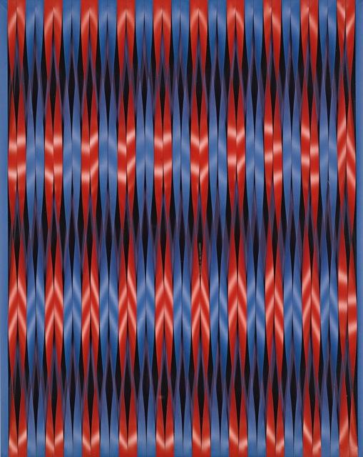 , 'Twisting Stripes,' 1964, Galerie Leu