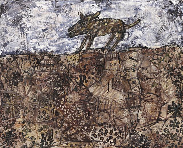 , 'Le Chien Rôdeur,' 1955, Galerie Von Vertes