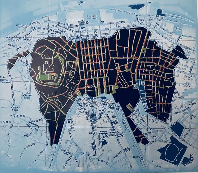 , 'Mapaglypha: A Bull in Lisbon,' 2011, Imlay Gallery