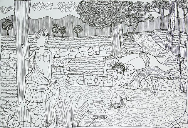 , 'Narcissus ,' 2016, David Lusk Gallery