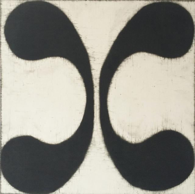 Isabel Bigelow, 'wings (black & pale)', 2015, Sears-Peyton Gallery