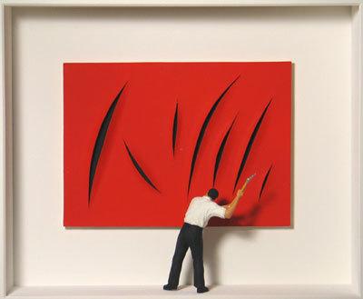 , 'Homage to Lucio Fontana,' ca. 2015, Artima