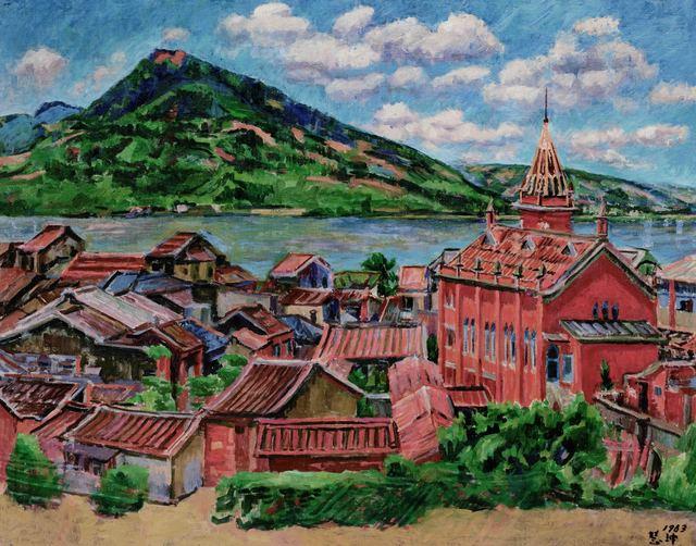 , 'Kuan-yin Mountain, Tan-Chiang,' 1963, Liang Gallery