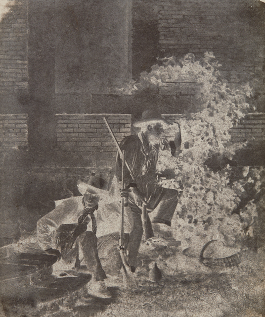 Baron Louis-Adolphe Humbert de Molard, 'Two Hunters', 1848, Phillips