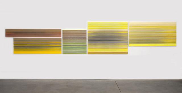 , 'the reaching sun,' 2017, Carrie Secrist Gallery