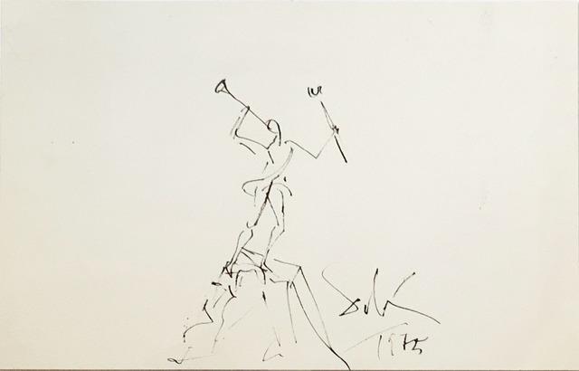 , 'Study for the sculpture Mercurio ,' 1975, Fairhead Fine Art Limited