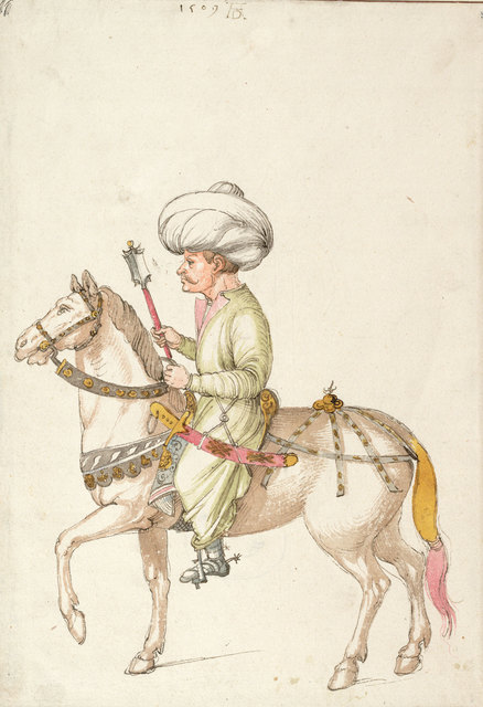, 'Oriental Rider,' c. 1495, Centre for Fine Arts (BOZAR)