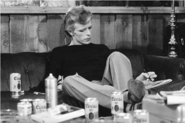 , 'David Bowie Lounging,' ca. 1970, Mouche Gallery
