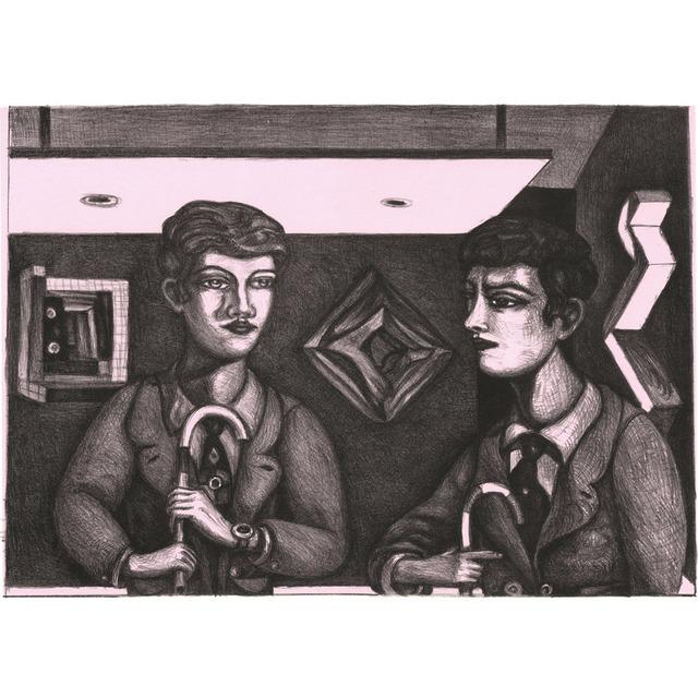 Adrian Wiszniewski, 'Tete a Tete', 2014, Bridgeman Editions
