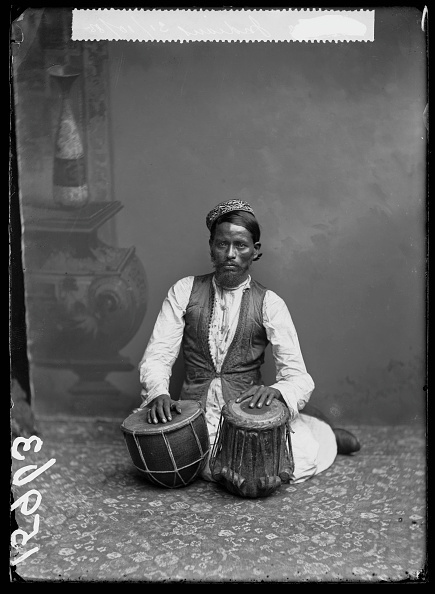 , 'Tabla Player,' 1885, Getty Images Gallery