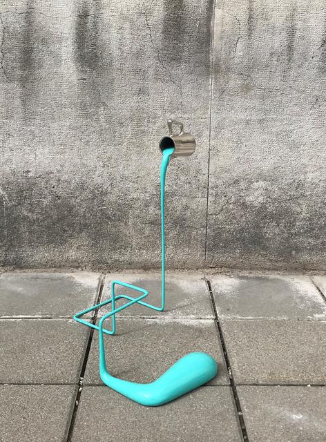 , 'Liquid Constructions (Türkis),' 2019, Mario Mauroner Contemporary Art Salzburg-Vienna