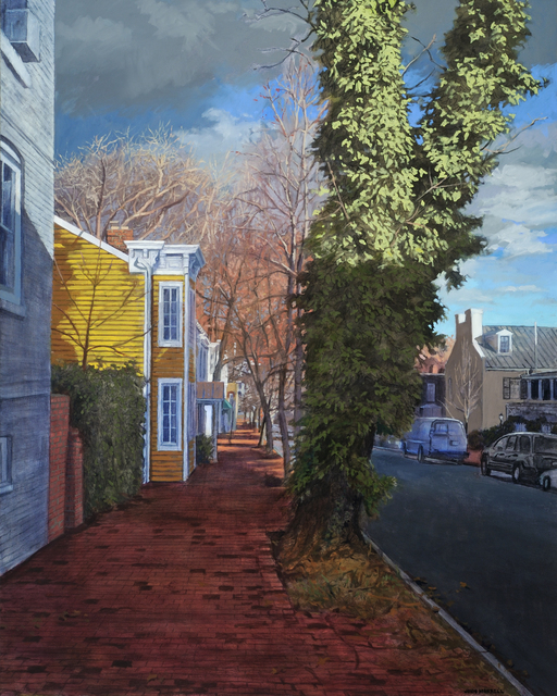 , 'Autumnal Light, Prospect Street,' 2017, Addison/Ripley Fine Art