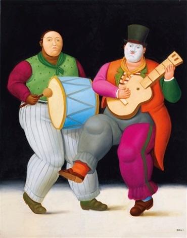 Fernando Botero, 'The Carnival ', 2016, Galería Duque Arango